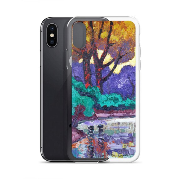 Bartos Art iPhone Case: MIRRORING I., Highlight your unique Appearence