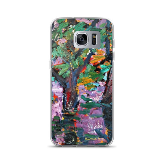 Bartos Art Samsung Case: BLURRED PURPLE, Highlight your unique Appearance