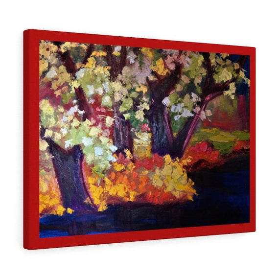 Bartos Art Canvas with color Margin: DEEP WATER, Emphasize your individuality at your home and in your office