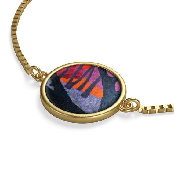 Bartos Art Bracelet: Woods VII., Emphasize your Individuality and aesthetic Sense