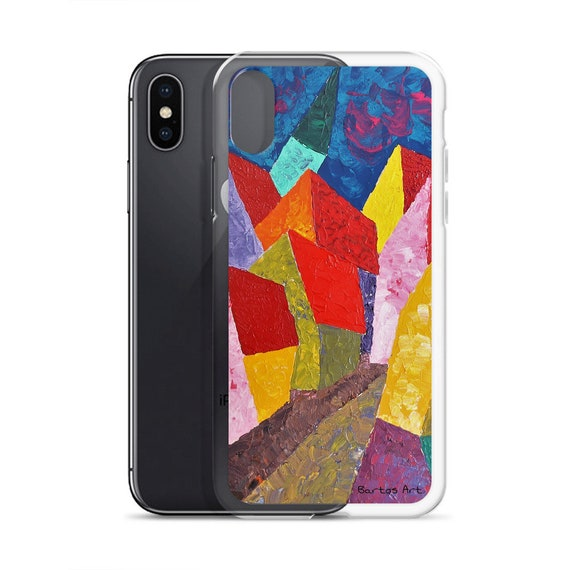 Bartos Art iPhone Case: HOUSES in MINDELHEIM III., Gemany Highlight your unique Appearence
