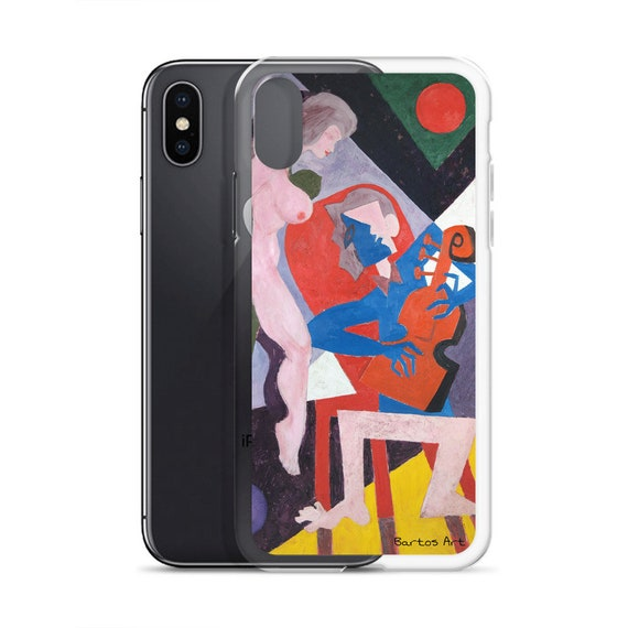 Bartos Art iPhone Case: THE MUSICIAN II., Highlight your unique Appearence