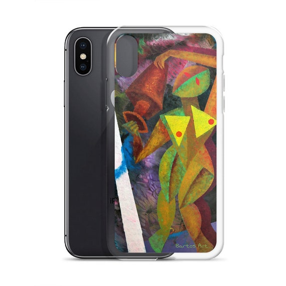 Bartos Art iPhone Case: AQUARIUS II., Highlight your unique Appearence