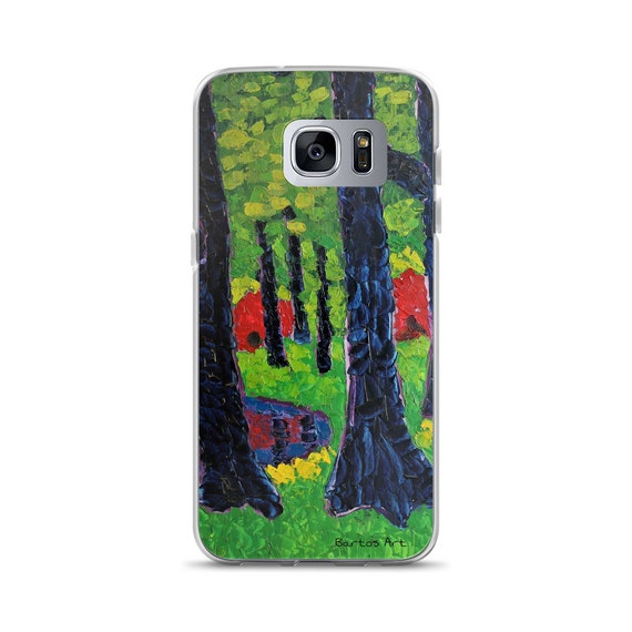 Bartos Art Samsung Case: RHODODENDRONS, PARIS, Highlight your unique Appearance