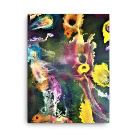 Bartos Art Stretched Canvas: SECRETS of the SEA, Create Your Personalized Environment