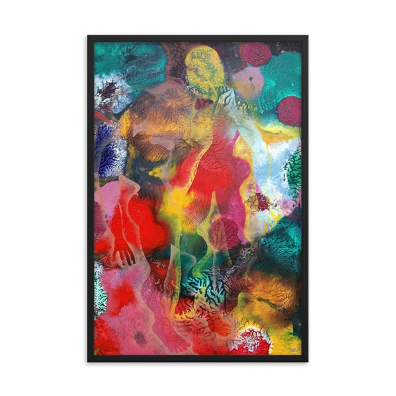 Bartos Art Framed Poster: MIMICRY VI., Create a unique and personalized Ambiance in your Home and Office