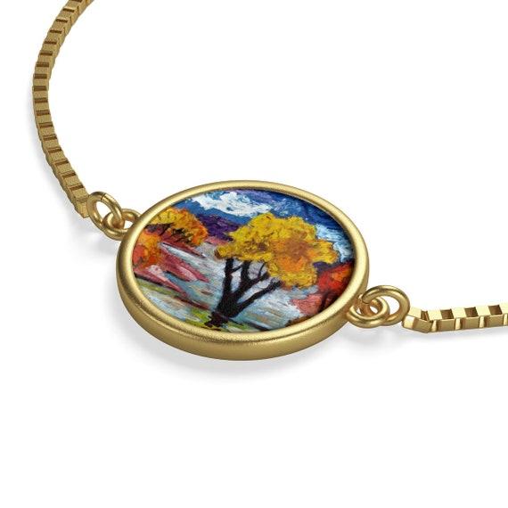 Bartos Art Bracelet: Woodland III., Emphasize your Individuality and aesthetic Sense