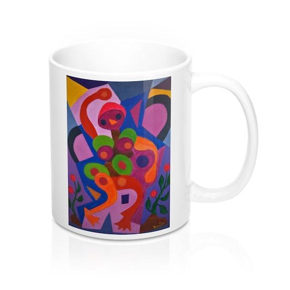 Bartos Art Mug: Birdie, Appreciated Present for every true Hot Beverage Lover