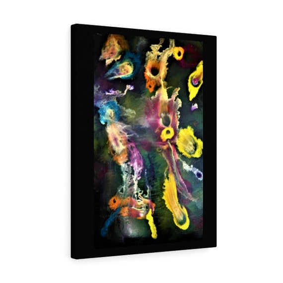 Bartos Art Canvas with Color Margin: SECRETS Of The SEA, Emphasize your Individuality at your Home and in your Office