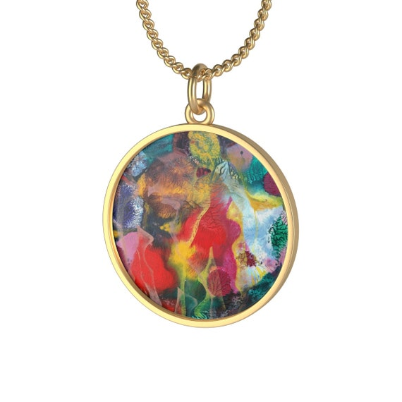 Bartos Art Necklace: MIMICRY VI., Individual and aesthetically pleasing Appearance