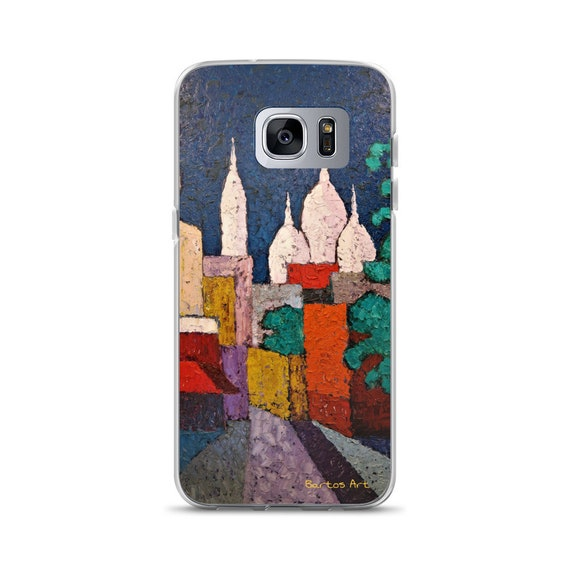 Bartos Art Samsung Case: SACRE COEUR, PARIS, Highlight your unique Appearance