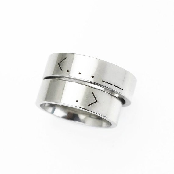 stackable ring Custom Morse Code RING,Personalized Secret Message Ring,sterling silver love ring,initial ring,Secret love ring