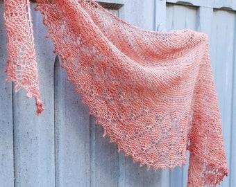 Break of Dawn Shawl Knitting Pattern