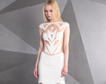Dress  'Transform White'