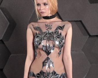 Dress 'Transform Silver'