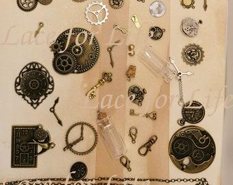 INSTANT DOWNLOAD junk journal steampunk sheet,tear or background,art, decoupage, collage, scrapbook, junk journal, jpeg multi use