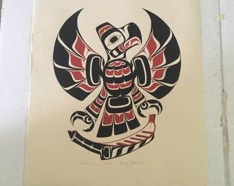 Haida Native American Print
