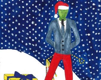 Modern Christmas Osiris Print