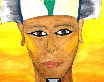 Golden Osiris Print