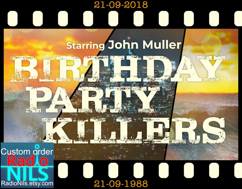 Personalised Birthday Greeting Card Email Download Thriller