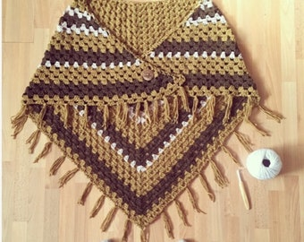 Women/'s /&Girls Cable Blanket  Poncho 7 Designs Peruvian Spirit Lacy Wrap Heirloom Shawl Patons Wrap It Up Knitting Pattern