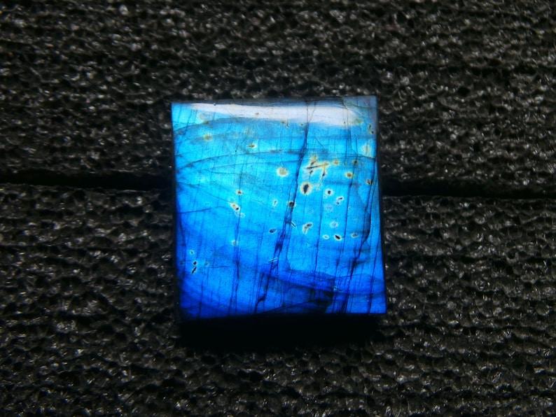 Labradorite  Cabochons-Rectangle Shape-Labradorite Loose Gemstone-Labradorite Gemstone-Labradorite Jewellery-31x29x8 mm-JC-2868
