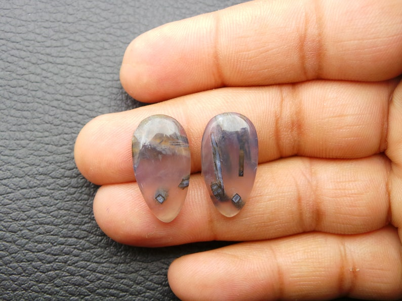 Stick Agate Cabochons Pear Shap Stick Agate Loose Gemstone Stick Agate Gemstone-Stick Agate Jewelry-AAA Quality-23x12.5 MM JC-4368
