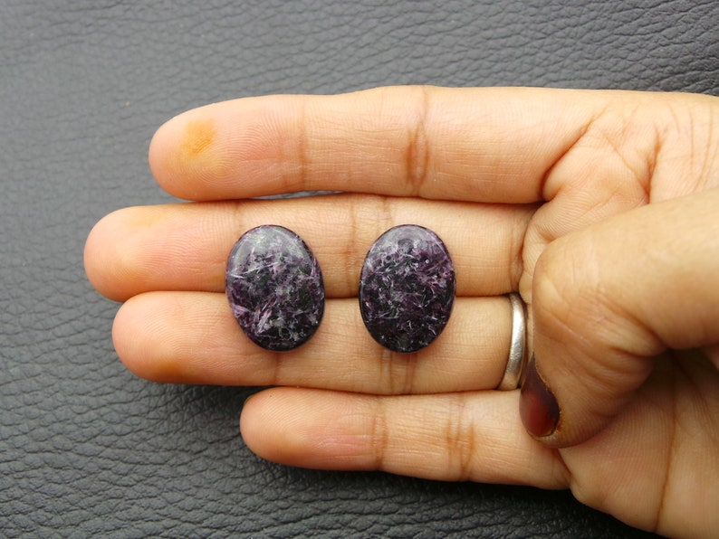 Charoite Cabochons Oval Shap Charoite Loose Gemstone Charoite Gemstone-Charoite Jewelry-AAA Quality 18x13.5 MM-JC-4279
