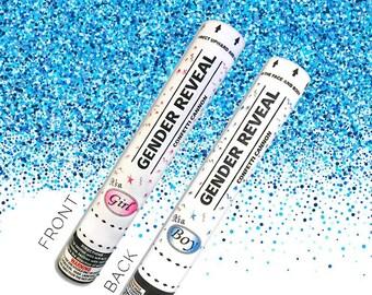 Ships Same Day Sale! 12 Inch Confetti Cannon Gender Reveal Confetti Cannon Gender Reveal Cannon