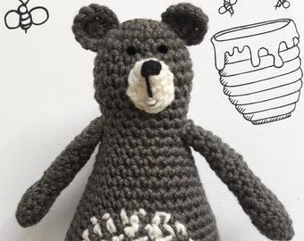 Bear Amigurumi / Crochet Pattern