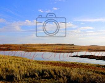 Scotland Landscape - Reflective Loch