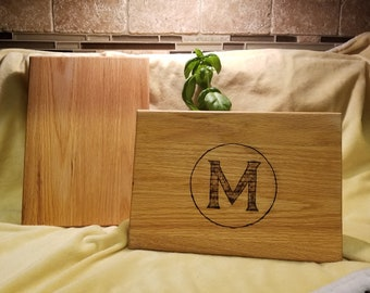"Custom Wood Cutting Board  - 8"" x 11.5"""