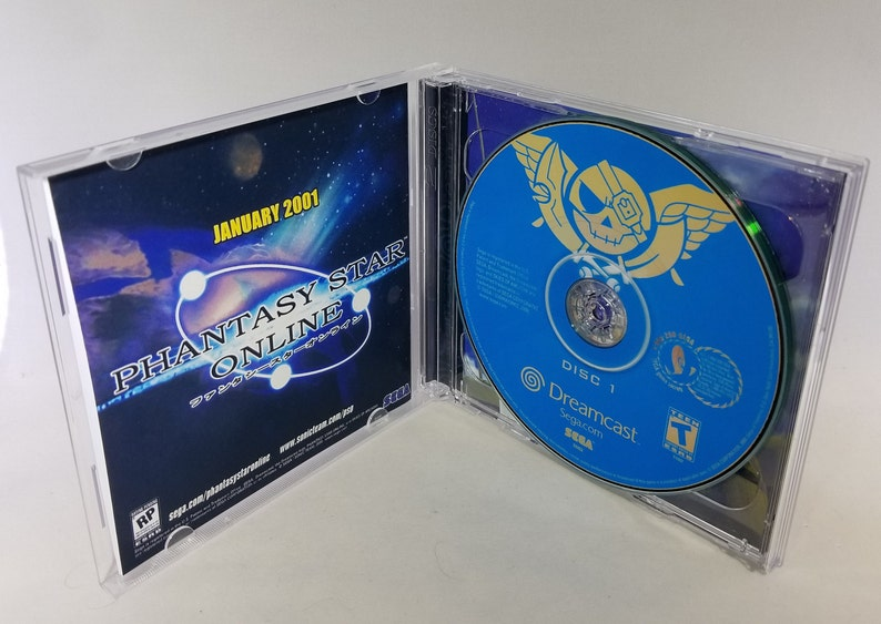 Cover -- Case Insert VGA compatible -- Discs Skies of Arcadia Reproduction for Sega Dreamcast