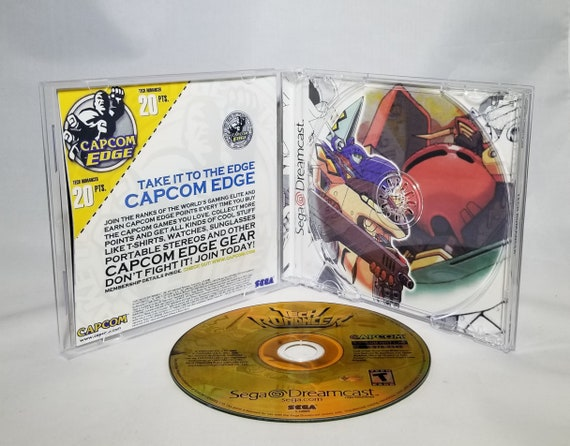 Inserts Tech Romancer Reproduction for Sega Dreamcast Case Disc Full Manual --