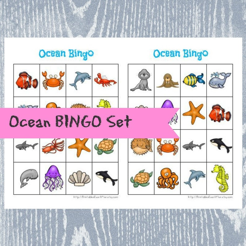 photo about Animal Bingo Printable identify Ocean Animal Bingo, Printable Bingo, Ocean Birthday Bash, Bingo Video game, Ocean Occasion Recreation, Printable PDF, Bingo Playing cards, Instantaneous Obtain