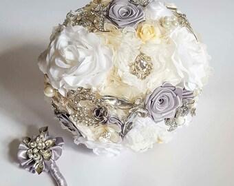 Bridal Bouquet Julia Brooch bouquet from creator Edyta Anderwald