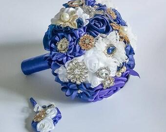 Bridal Bouquet Laura Brooch bouquet from creator Edyta Anderwald