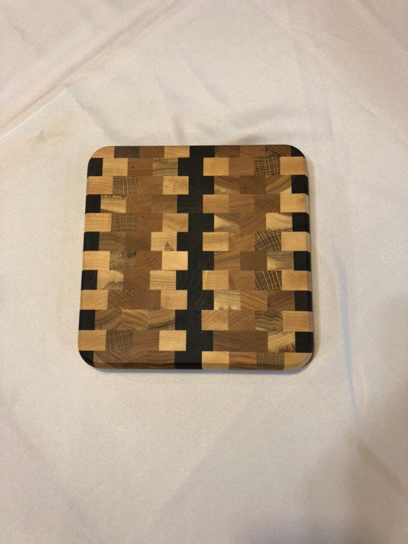 9 x 9 End Grain Cutting Board
