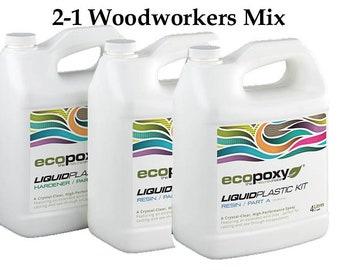 Ecopoxy Liquid Plastic 12L woodworkers Mix