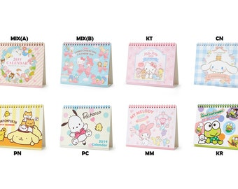 Hello Kitty Calendar Etsy