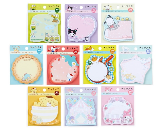 Japan Sanrio Hello Kitty  My Melody Sticky Notes Pad