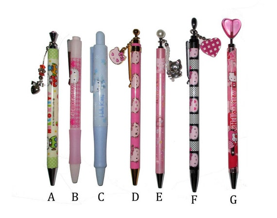 old school Japan Hello Kitty  My Melody Snoopy Mechanical Pencil  Ballpoint Pen