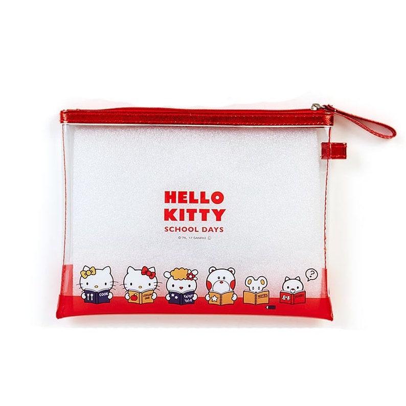 Japan Hello Kitty  Bad Badtz Maru  Tuxedo Sam  My Melody  Little Twin Stars  Pompompurin  Tuxedo Sam Clear Pencil Case  Pen Pouch