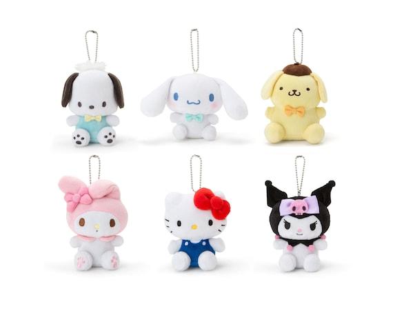 Gift Japan Free Shipping Rain coat Mascot Holder Doll Kuromi Sanrio New