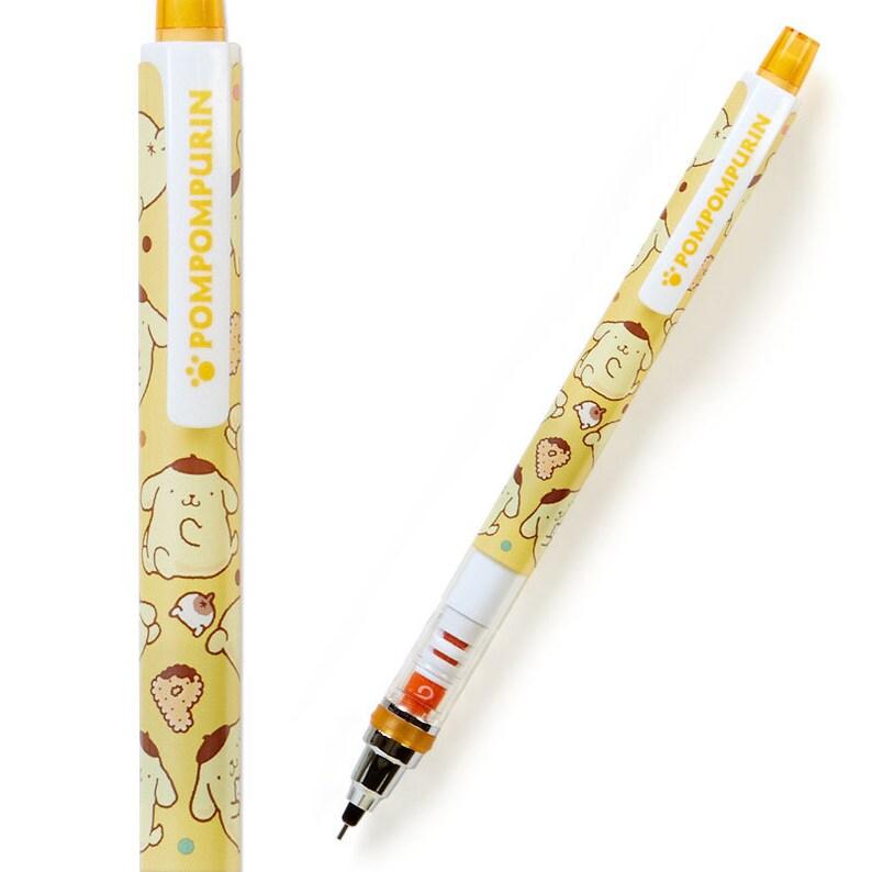 Japan Sanrio x Kurika Pompompurin Mechanical pencil and Ballpoint Pen Set