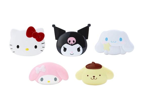 Hello Kitty Face mirror&comb set SANRIO JAPAN