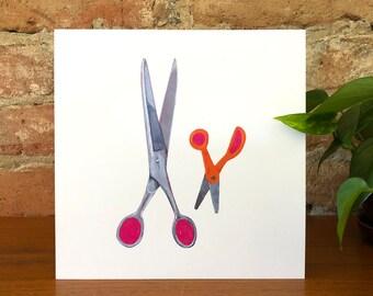 Scissors print - Artwork - Home Decor
