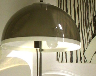 vintage space age adjustable plastic floor lamp