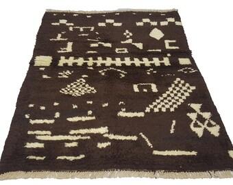New Anatolian Tulu, Hand knotted. 116  x  147 cm NO: 9840