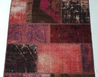 Vintage Patchwork Rug No: 12892